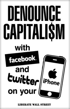 Denounce Capitalism