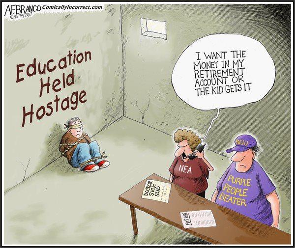 Education Held Hostage