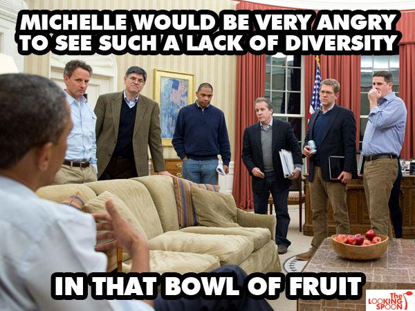 Lack of Diversity