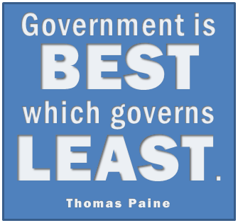 Government Is Best...
