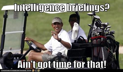 Intelligence briefings?