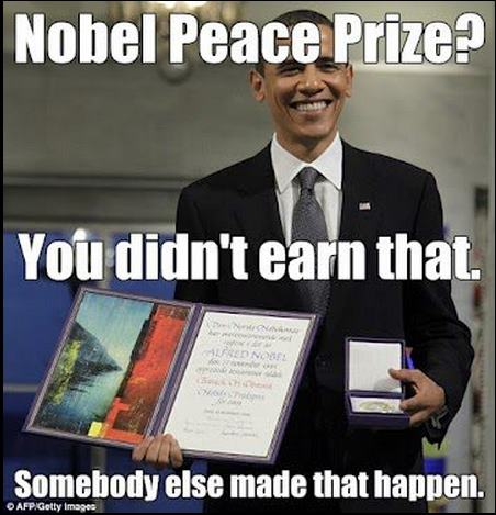 Nobel Peace Prize?