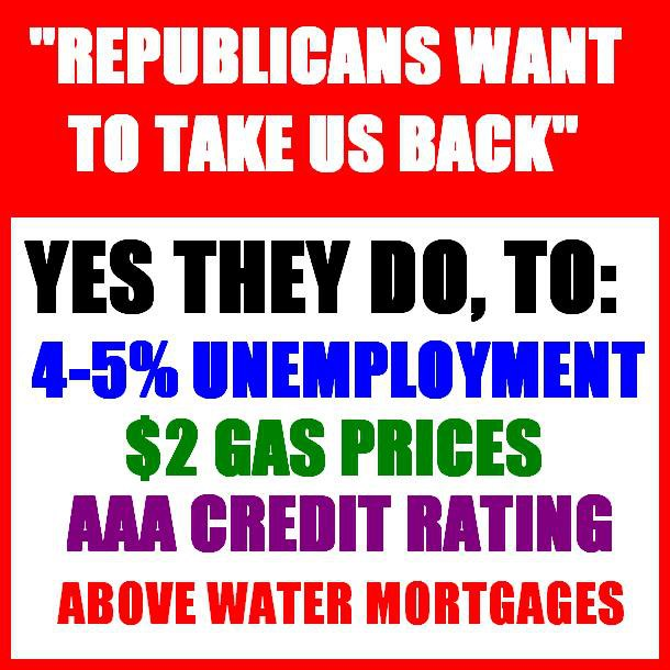 Republicans Want to Take Us Back